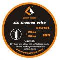 SS Clapton Wire SS316L 26ga+30ga 3m Geekvape
