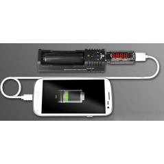 USB Μετρητής ρεύματος και τάσης XTAR