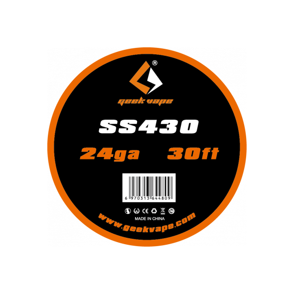 SS430 24ga 10m Geekvape